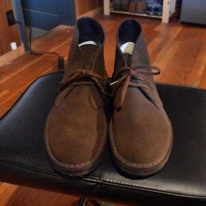 Clarks Desert Boots Brown 9.5